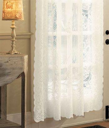 Lace Curtains White Lace Curtains Battenburg Lace Curtains Lace