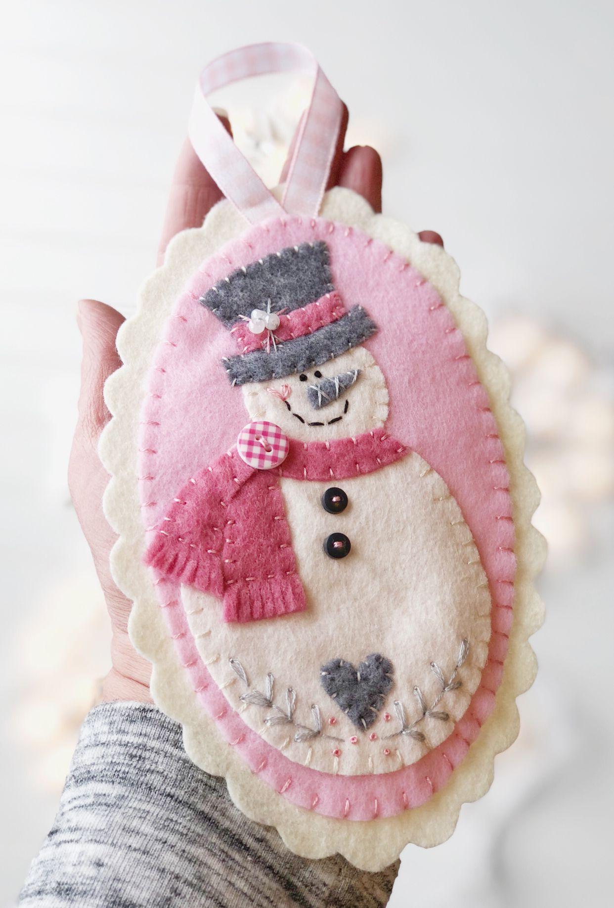 Felt Christmas Ornament Felt Ornaments Patterns Felt Christmas Ornaments Felt Ornaments