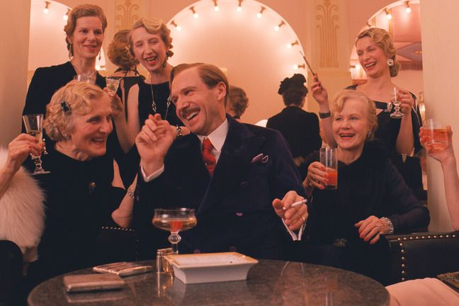 2014: 2nd Place: The Grand Budapest Hotel, with Ralph Fiennes and F. Murray Abraham