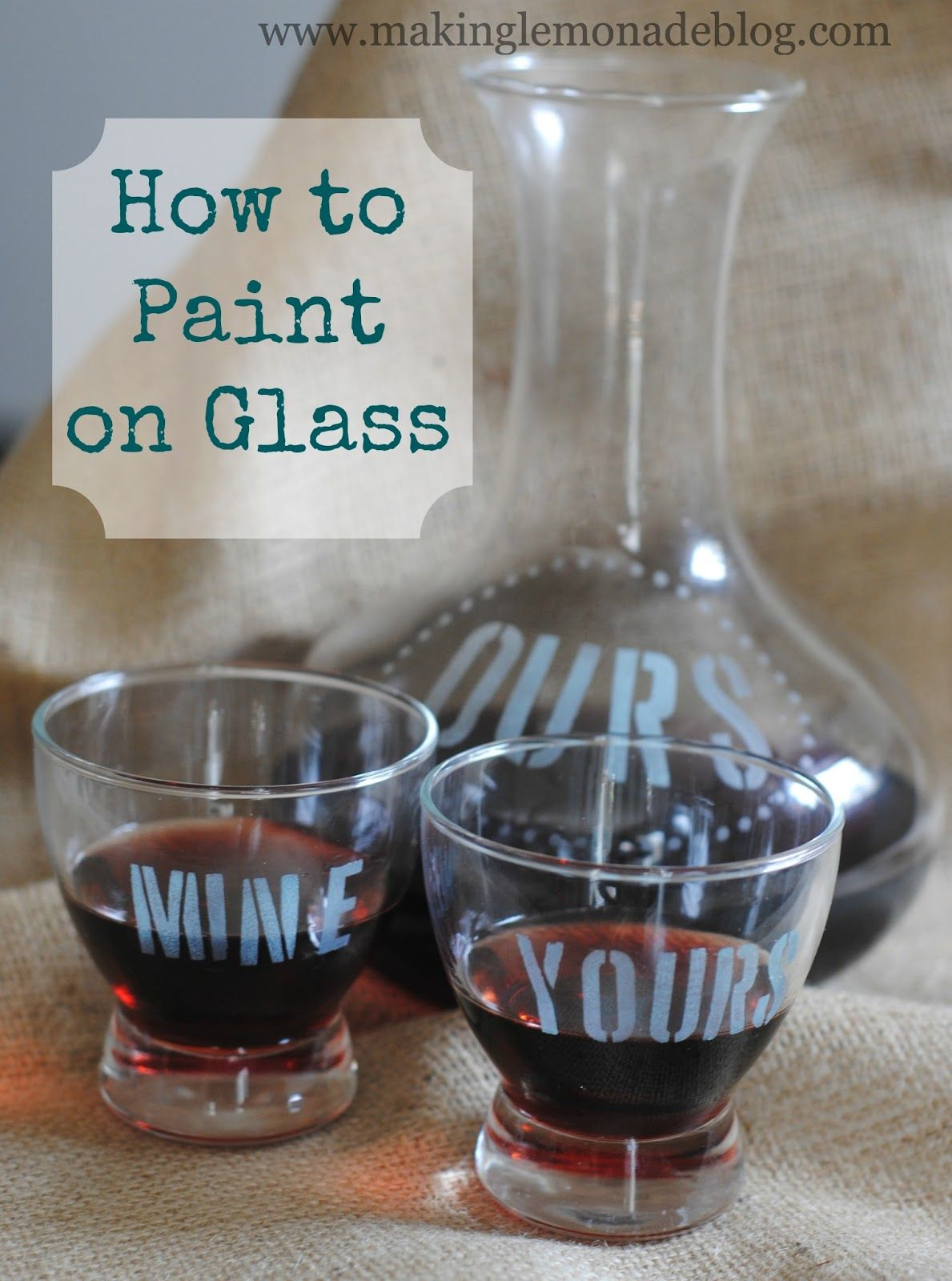 Diy Frosted Glass Paint