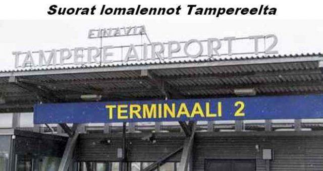 Lomalennot Tampereelta