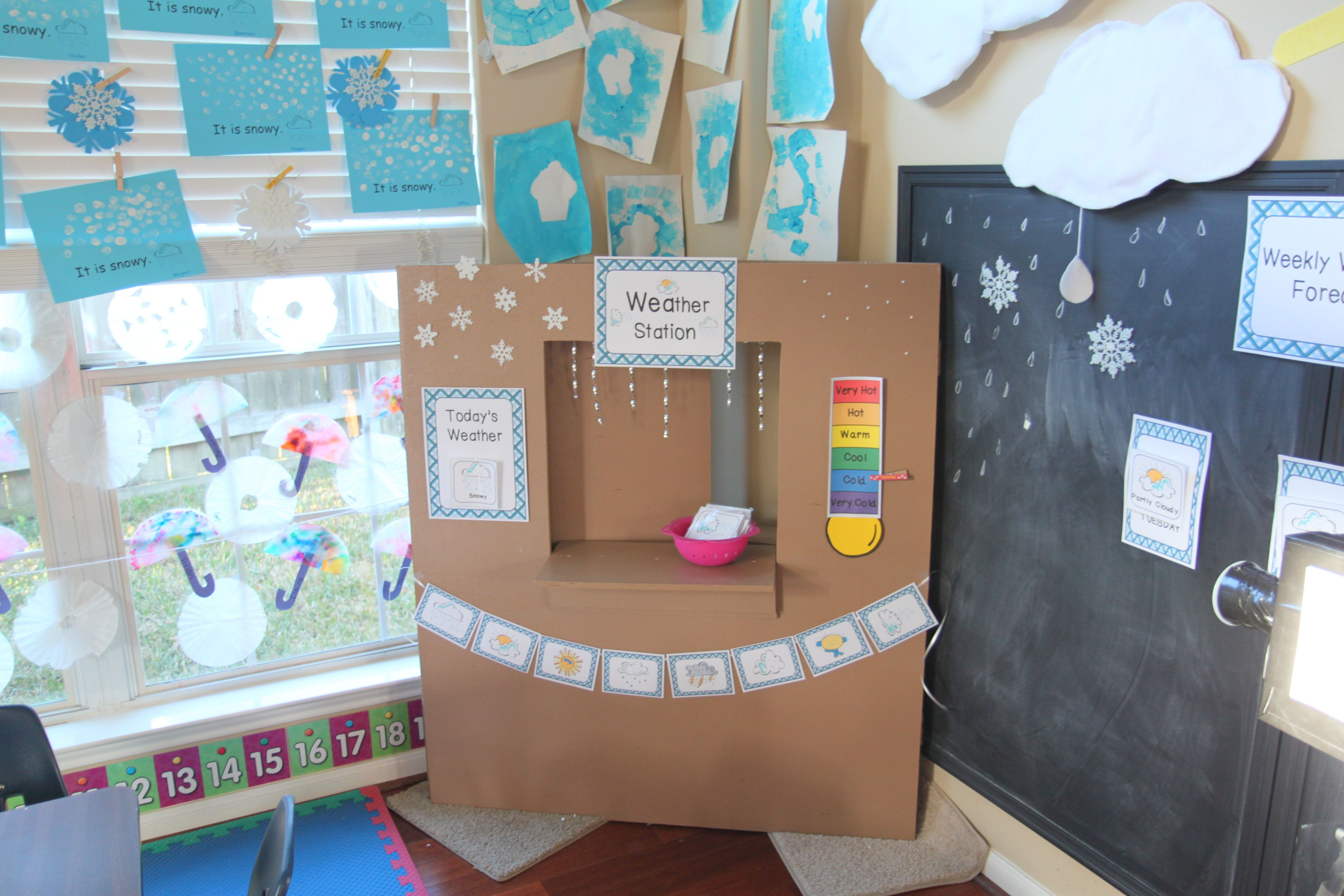 Weather Station Dramatic Play And Circle Time Activities