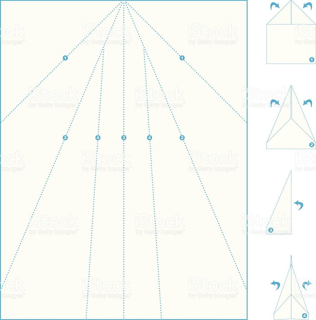 folding template for a paper airplane paper planes pinterest