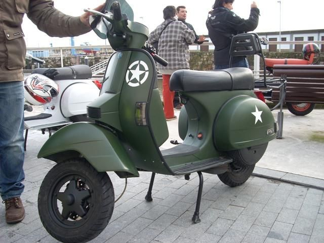 Vespa PX 125 Militar