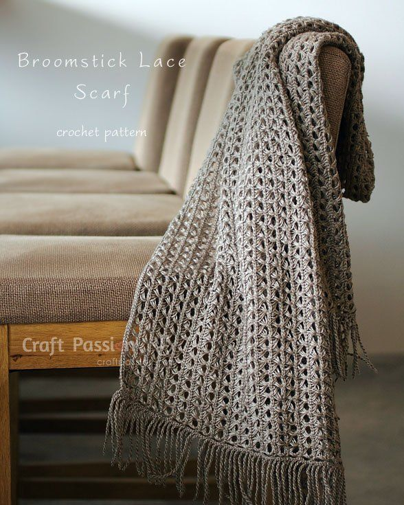 Crochet It: Broomstick Lace Scarf