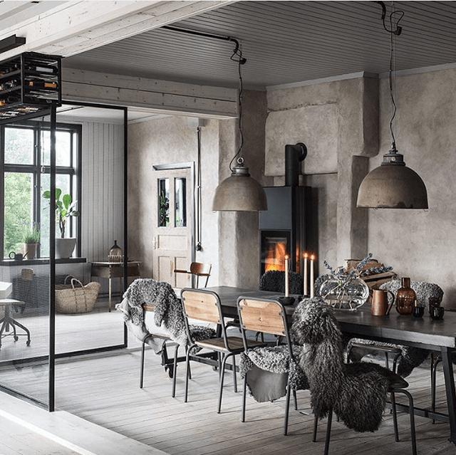 Industrial Home Interior Design: Un Ancien Atelier Rénové Par Un Architecte (PLANETE DECO A