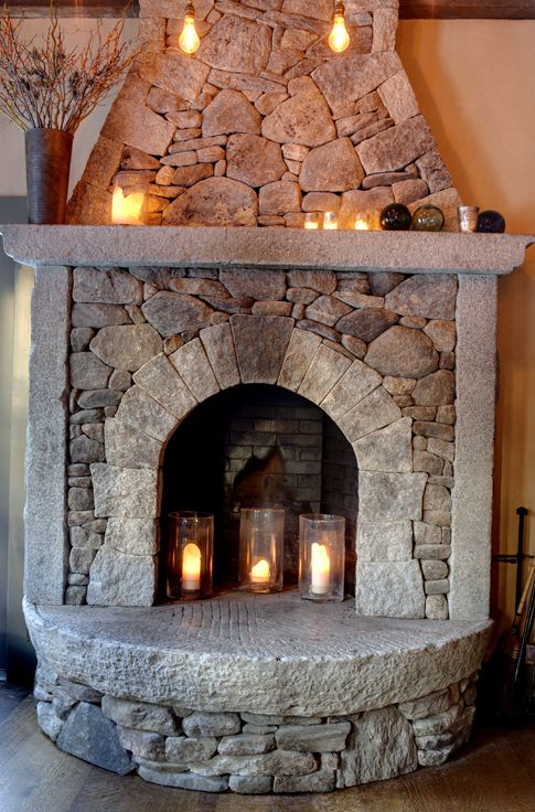 The Fire Place At The State Road Restaurant Rustic Home Design Paint Colors For Living Room Candles Inside Fireplace