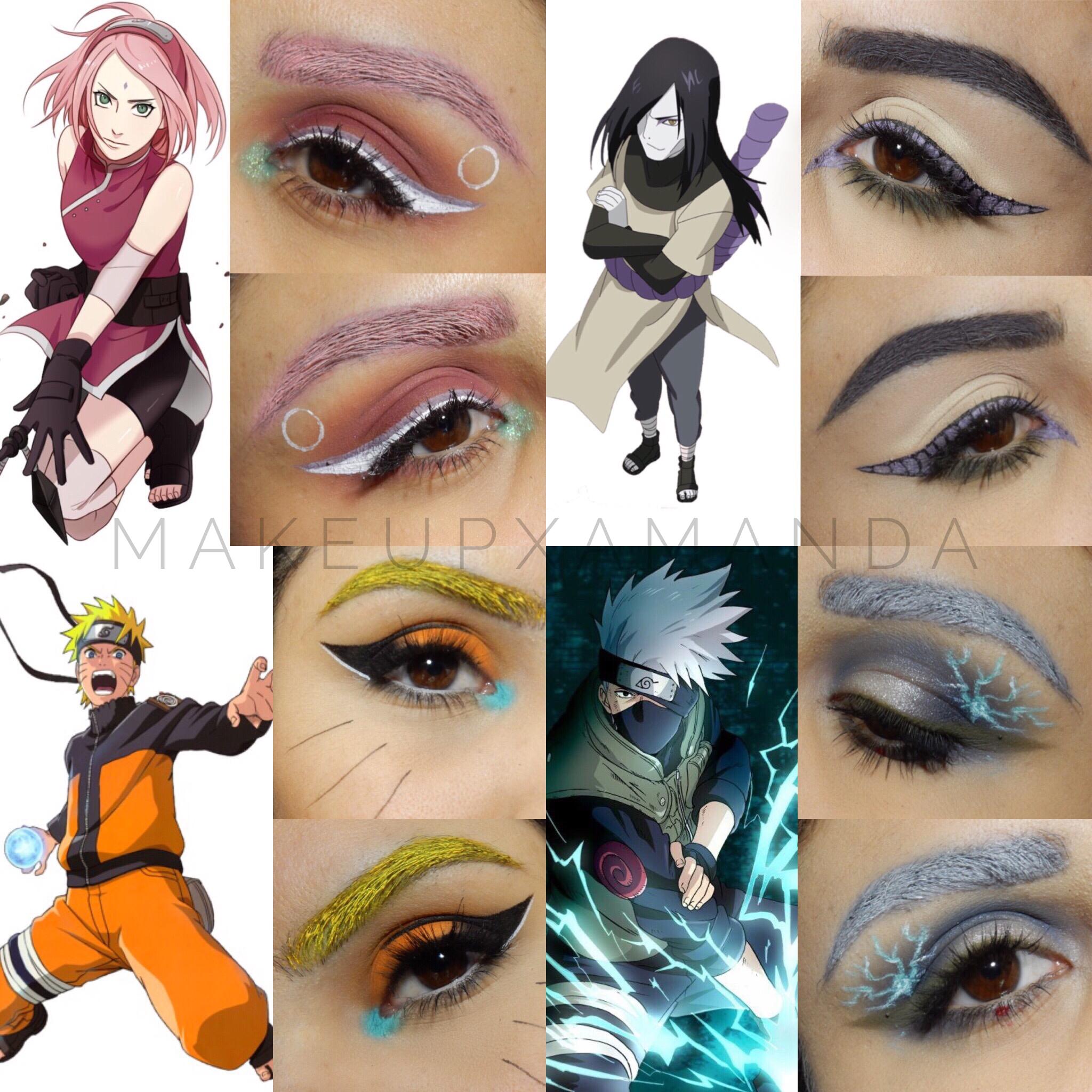 The Best Naruto Makeup Look And Pics In 2020 Anime Makeup Makeup Anime Cosplay Makeup