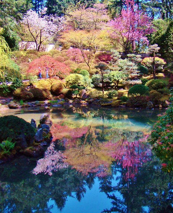 Jardim Japon S Em Portland Portland Japanese Garden