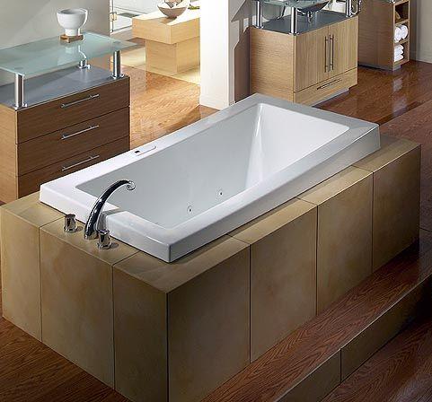 Soaker! | Master bath reno | Pinterest | Bath