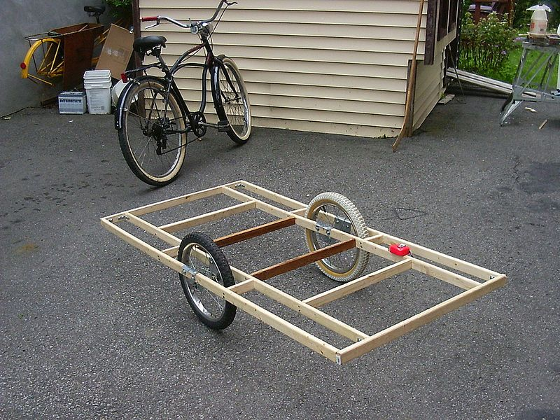 Diy Bike Trailer This Is The Perfect Platform For Our Dog Grocery Bike Trailer Bicycle Trailer Bicycle Cargo Trailer Bike Cart