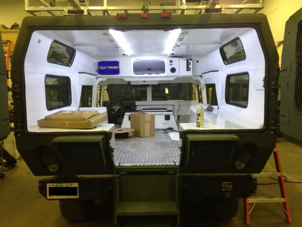Hummer H1 W Modified M996 Ambulance Body Hummer H1 Hummer Interior Hummer