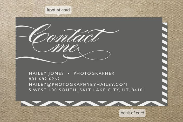 Bold contact business cards by jill means at minted beautiful bold contact business cards by jill means at minted colourmoves