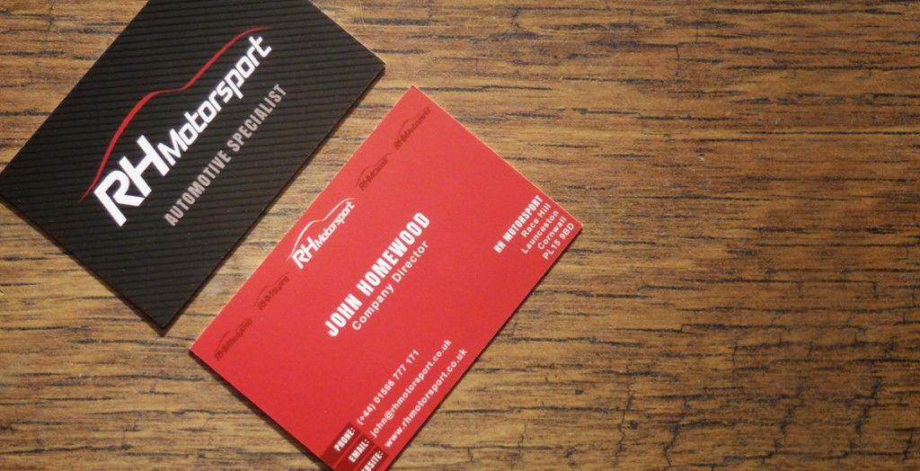 Rh motorsport business cards carly martin designer business rh motorsport business cards carly martin designer reheart Choice Image