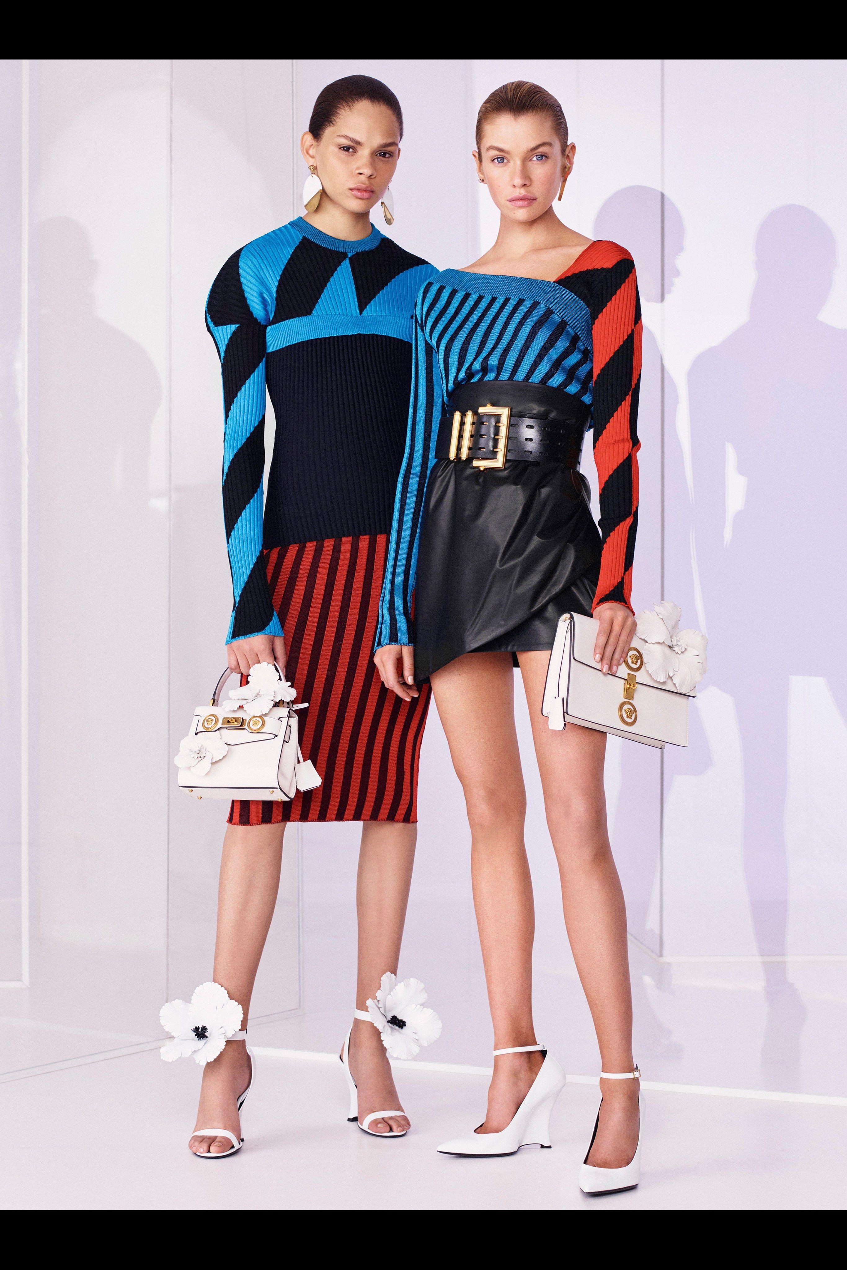 Versace Resort 2019 Fashion Show  Fashion, Versace fashion
