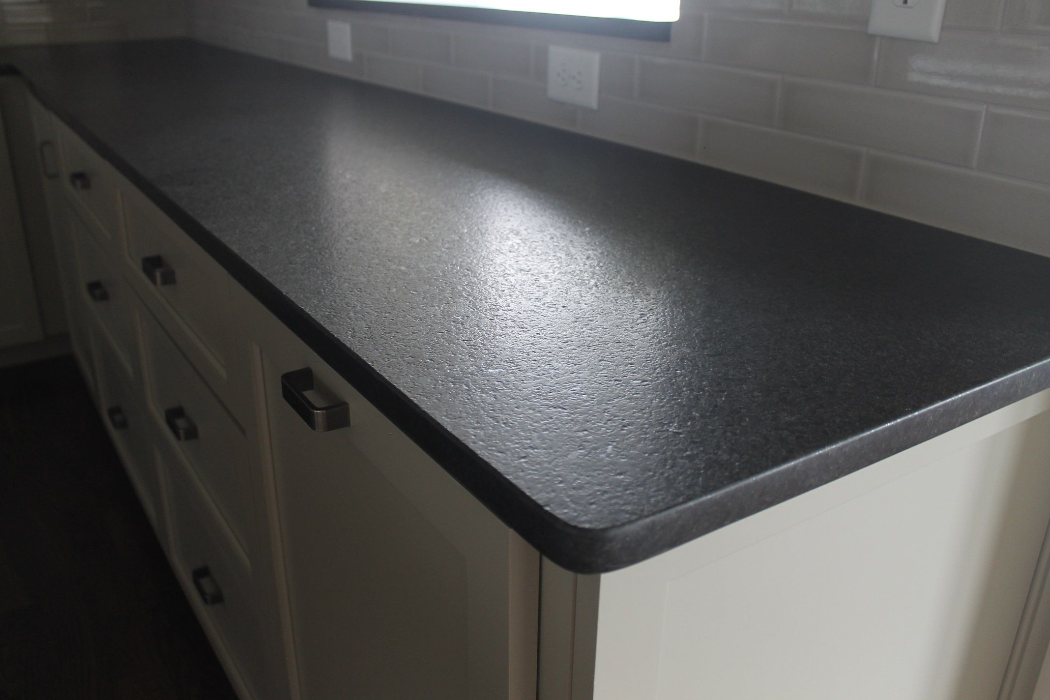 Black Pearl Leathered Granite | The Pointe | Pinterest | Cocinas