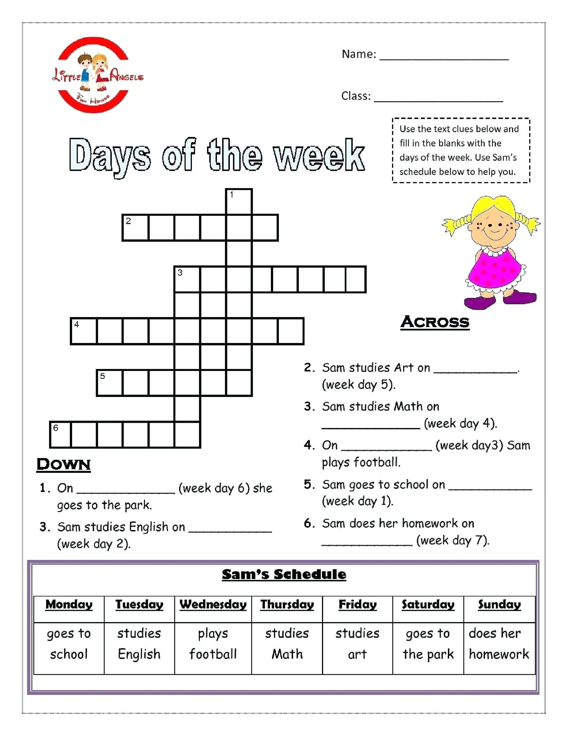 Image result for free esl printable worksheets grade 4 ...