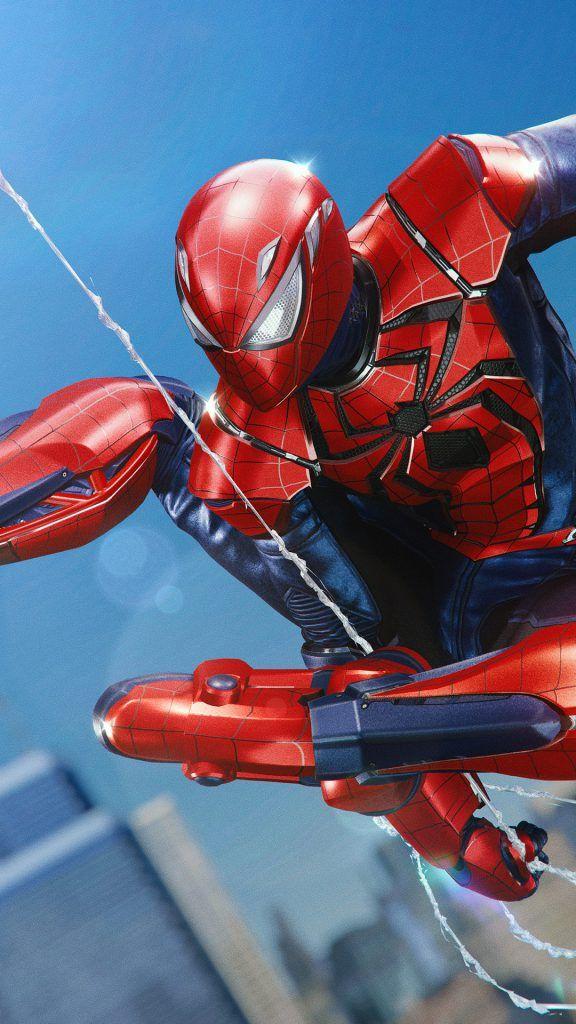 Iphone X Wallpaper Screensaver Background 153 Spiderman 4k Ultra