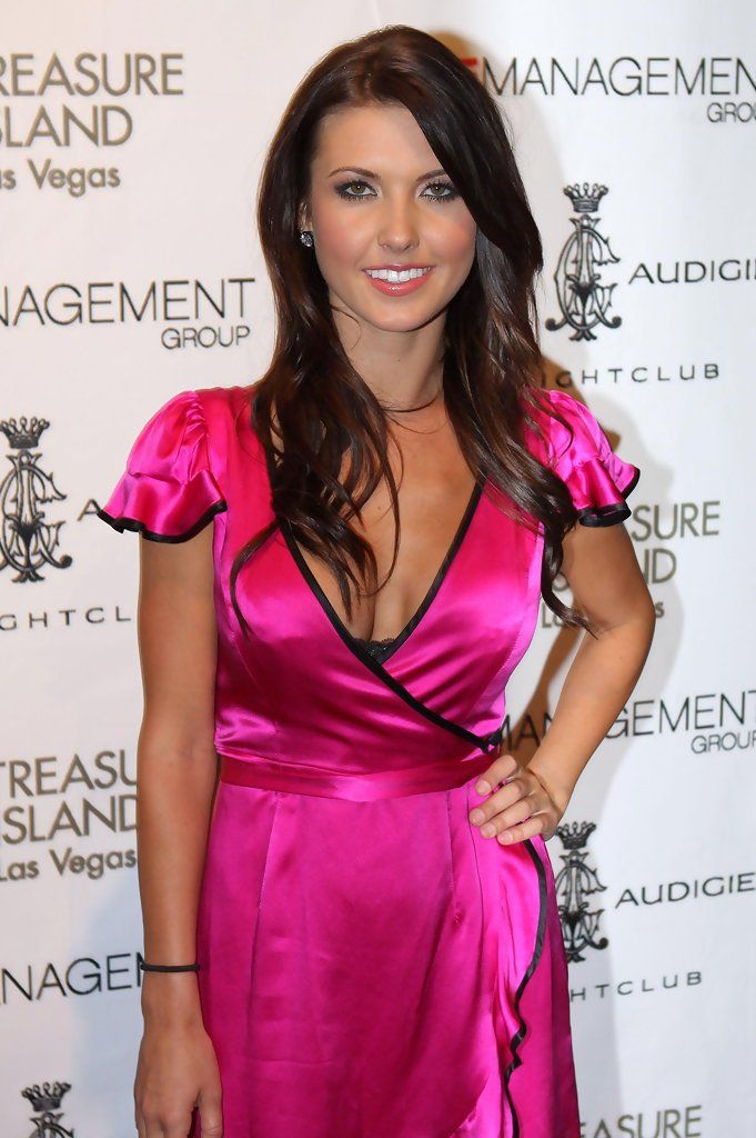 Audrina Patridge in AUDRINA PATRIDGE Hosting A Party At Christian Audigier's The Night Club