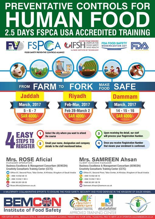 Food Safety Modernization Act Usa Has Changed The Food Safety Approach And Will Be Practiced Soon A Safety Management System Food Safety Critical Control Point