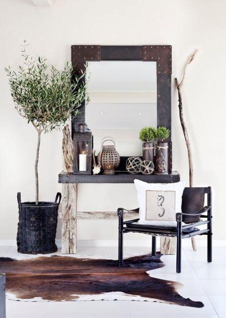 Olijfboom in de woonkamer | HOME IS... | Pinterest - Huis ideeën ...
