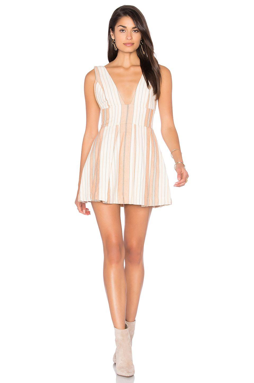 ceddad7bd23 MAJORELLE Agave Dress in Woven Stripe
