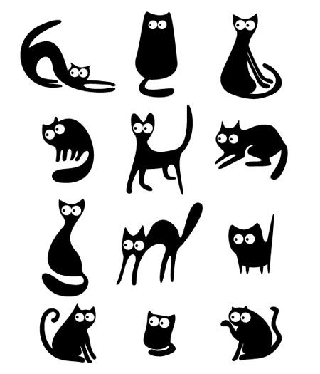 Funny Cat Graphic - Free Vector Site | Download Free Vector Art ...
