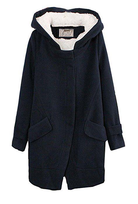Damen Wintermantel Damen Mantel Wollmantel Jacke Jacke j43LAR5