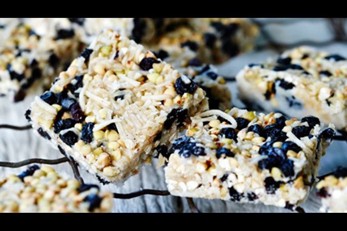 Buckwheat crackle slice nz herald recipe slices