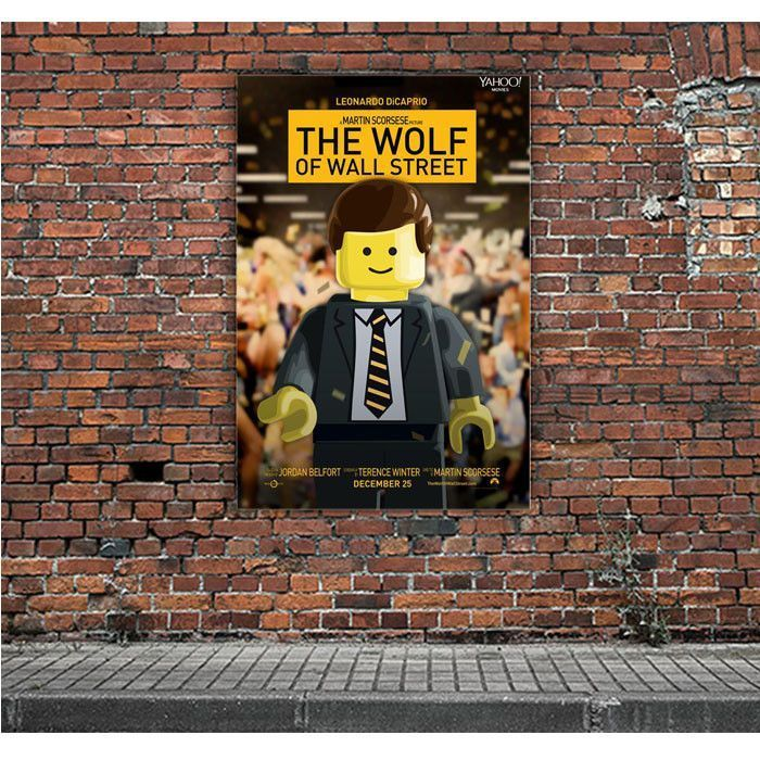 the wolf of wall street lego movie artwork posters on wall street movie id=16607