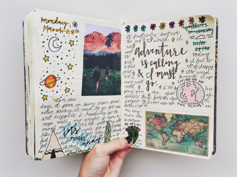 26 Elegant Image of Scrapbook Title Page Ideas Journaling ...