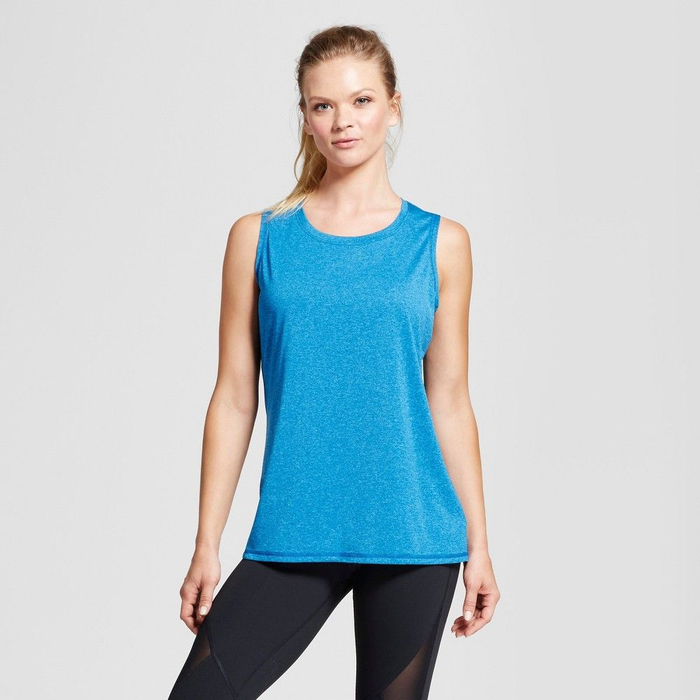 eab8fc262c9764 The Women s Sleeveless Tech T-Shirt from C9 Champion keeps you cool and  comfortable with fast-drying wicking fabric a semi-fit and comfort seams to  reduce ...