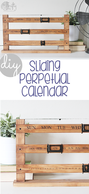 Photo of DIY Sliding Perpetual Calendar