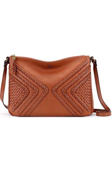 Elliott Lucca  Medium Mari  Braided Leather Crossbody Bag available ... 0b37c7792e591