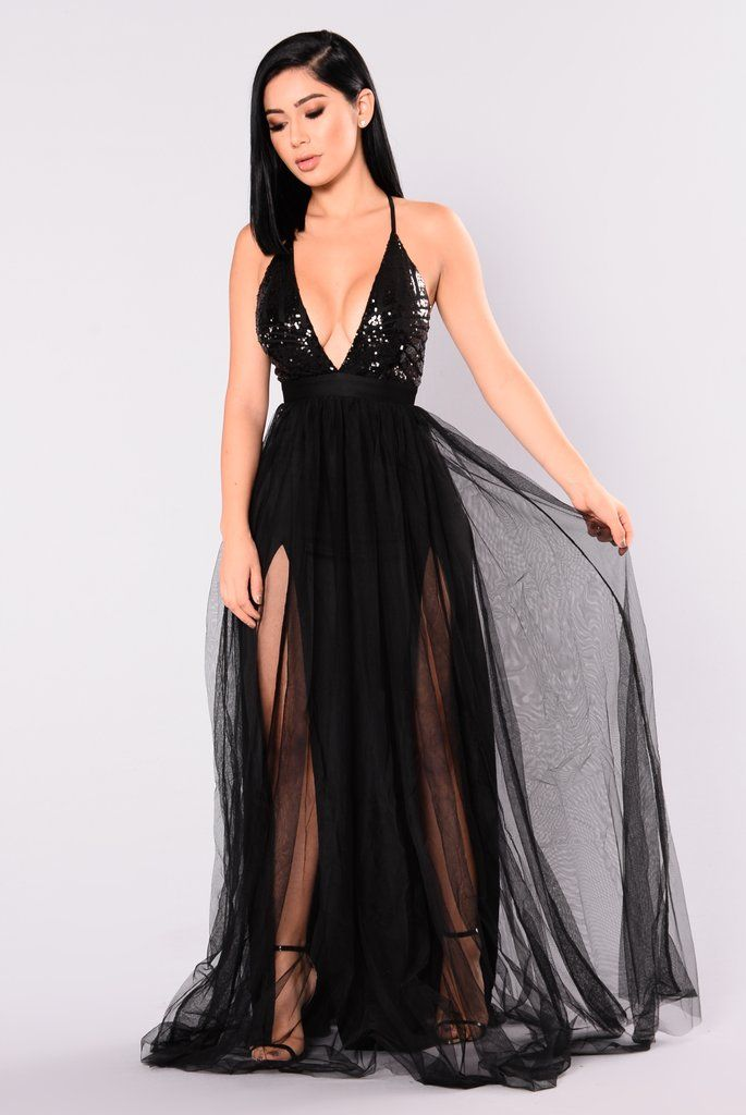 c8b91ba8d880d Majestic Sequin Dress - Black in 2019 | The Place To Go | Black ...