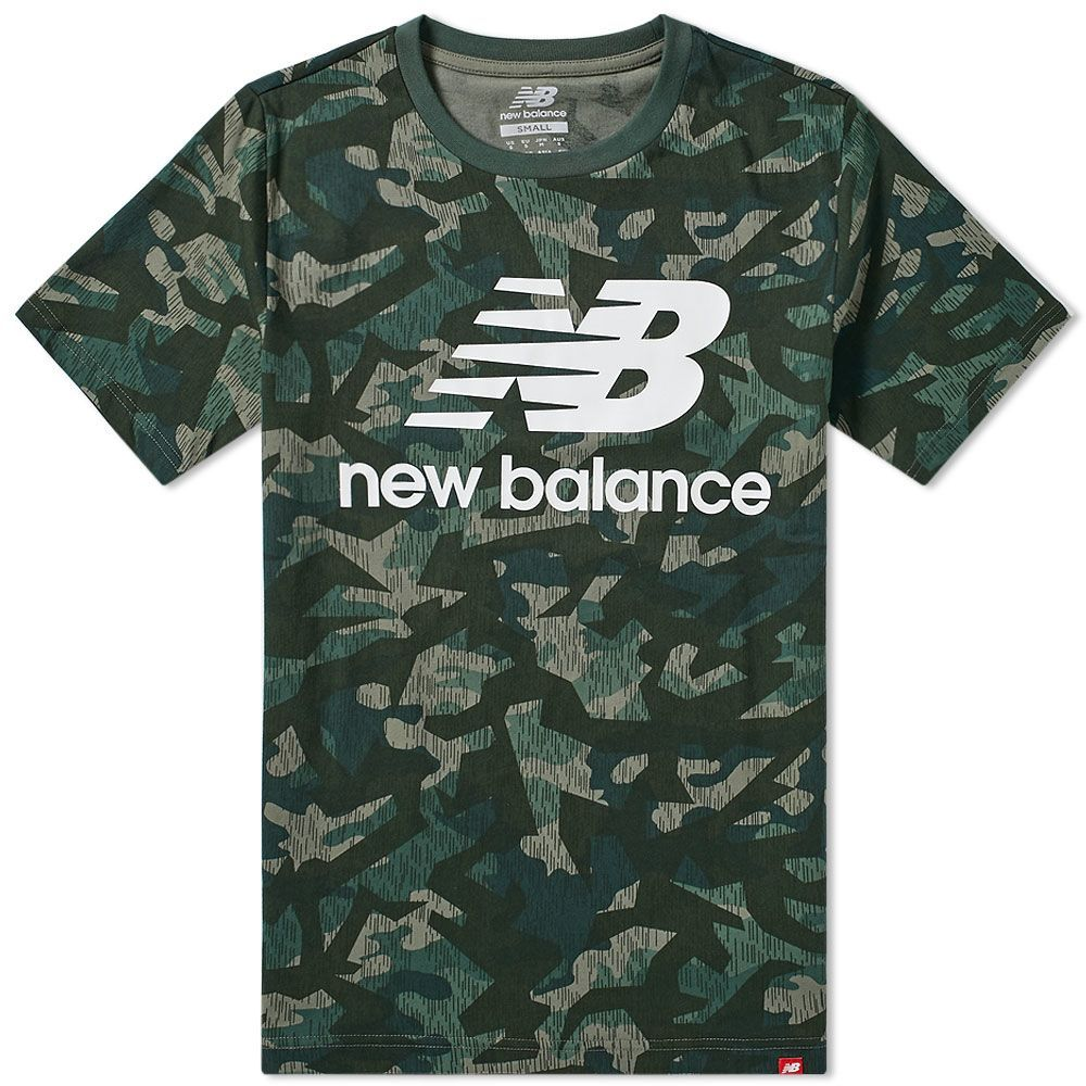 78f99c80 New Balance Essentials Stacked Logo Tee   Mens fashion /casual wear ...