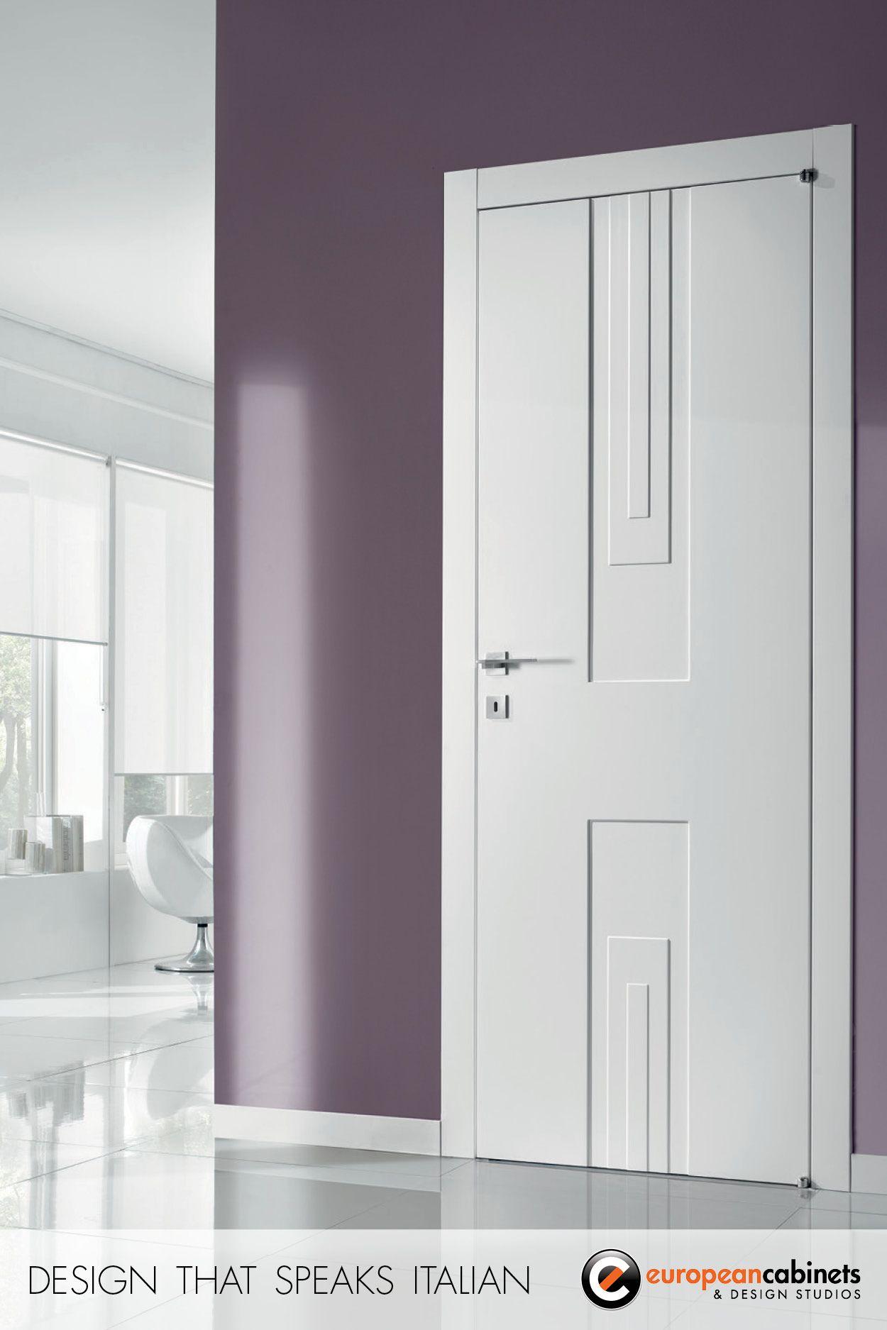 modern white interior door. Barn Doors · Modern White Interior Door
