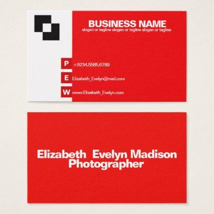 Modern Simple Elegant Business Card Template 006 Cards