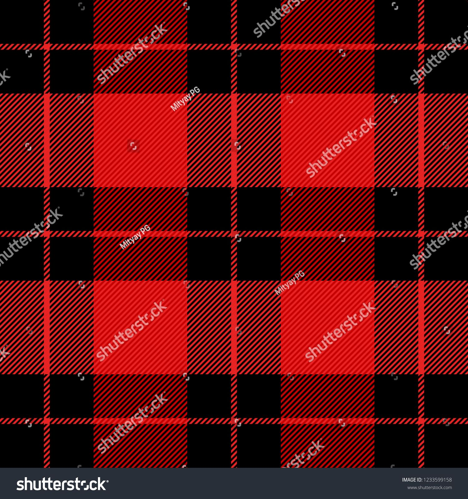 Christmas And New Year Tartan Plaid Scottish Pattern In Black And Red Cage Scottish Cage Traditional Scottish Che Tartan Plaid Tartan Christmas And New Year