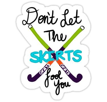 Field Hockey Sticker By Kayla And Ella Mulley In 2020 Field Hockey Stickers Field Hockey Quotes Field Hockey