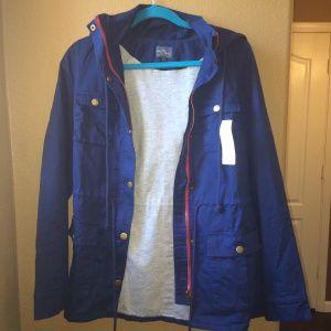 Market & Spruce Chaplin Lined Hooded Anorak Jacket
