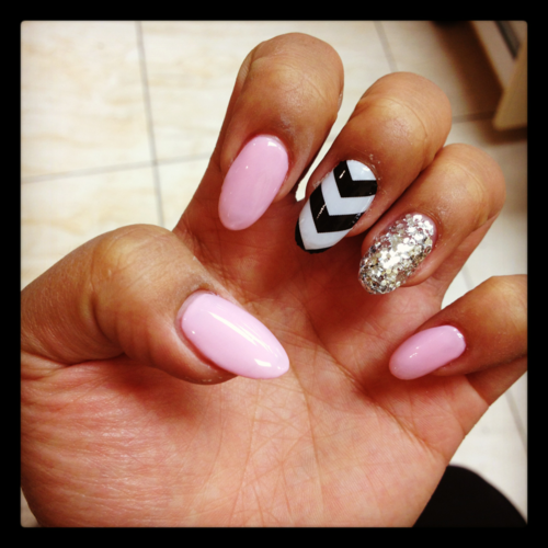 Nails tumblr nails although this chicks silverglittery nails tumblr nails although this chicks silverglittery nail is prinsesfo Image collections