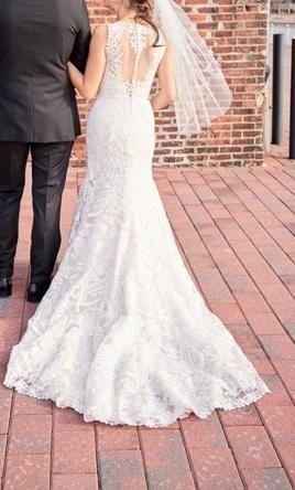Bhldn Adalynn Wedding Dress Used Size 8 1 000 Dresses