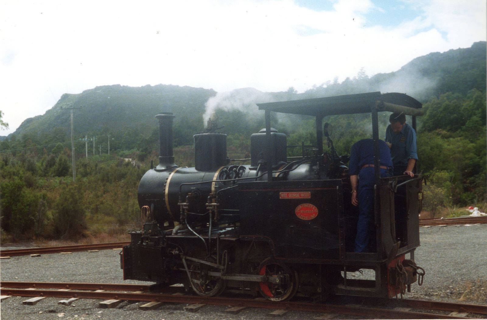DL032_015 Tasmanian, Tasmania, Railway