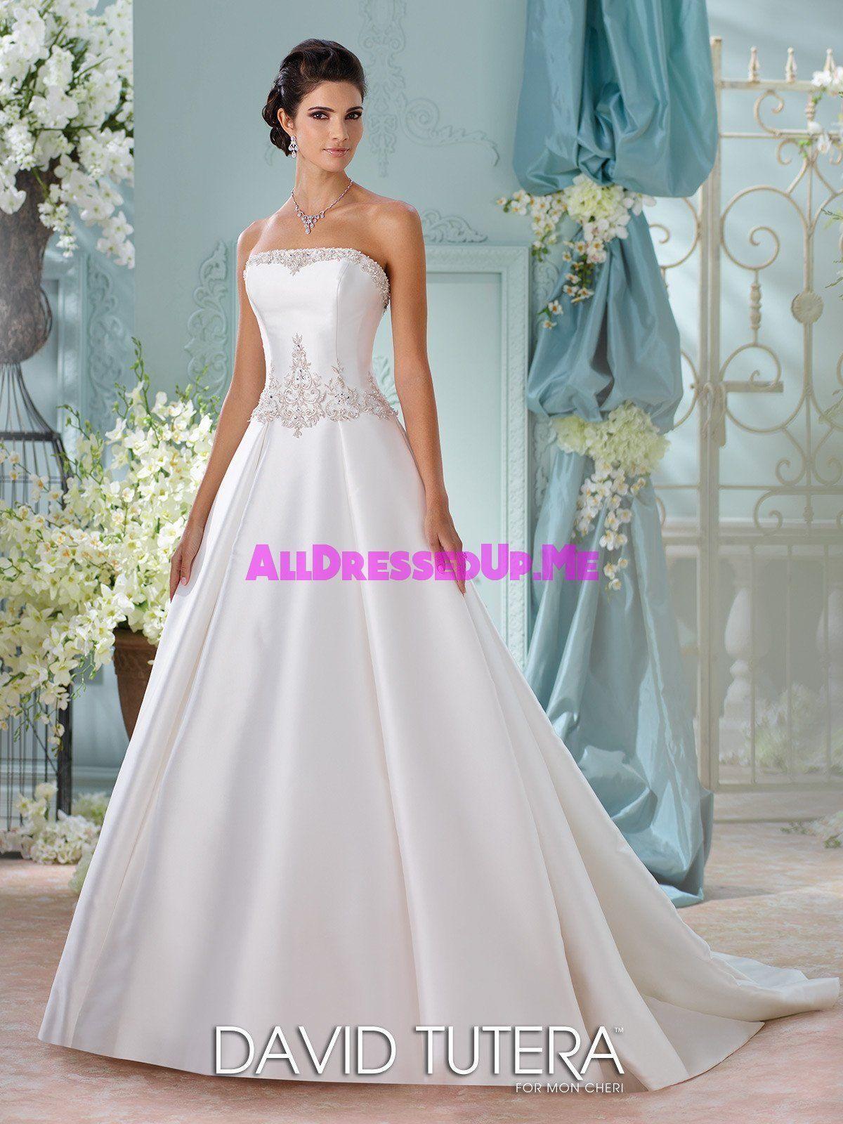 David Tutera - Selena - 116223 - All Dressed Up, Bridal Gown | David ...