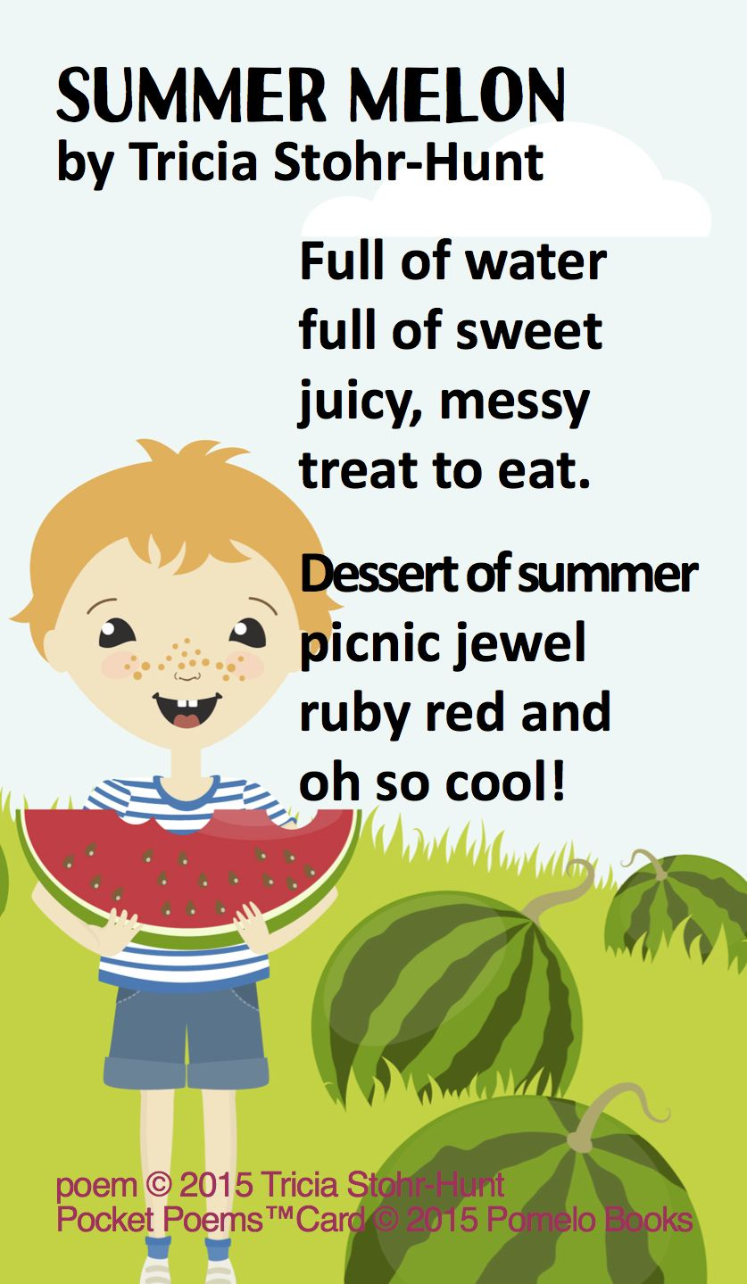 Quot Summer Melon Quot By Tricia Stohr Hunt For Watermelon Day In