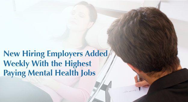 Job Board Find Listings In Mental Health Clinics Careers In Mental