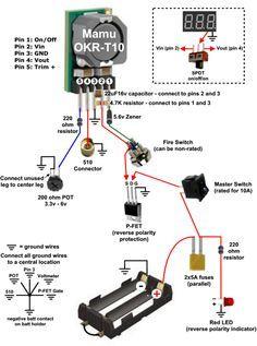 OKRT/10, T/6, T/3 schematic circuit mod in 2019 Vape