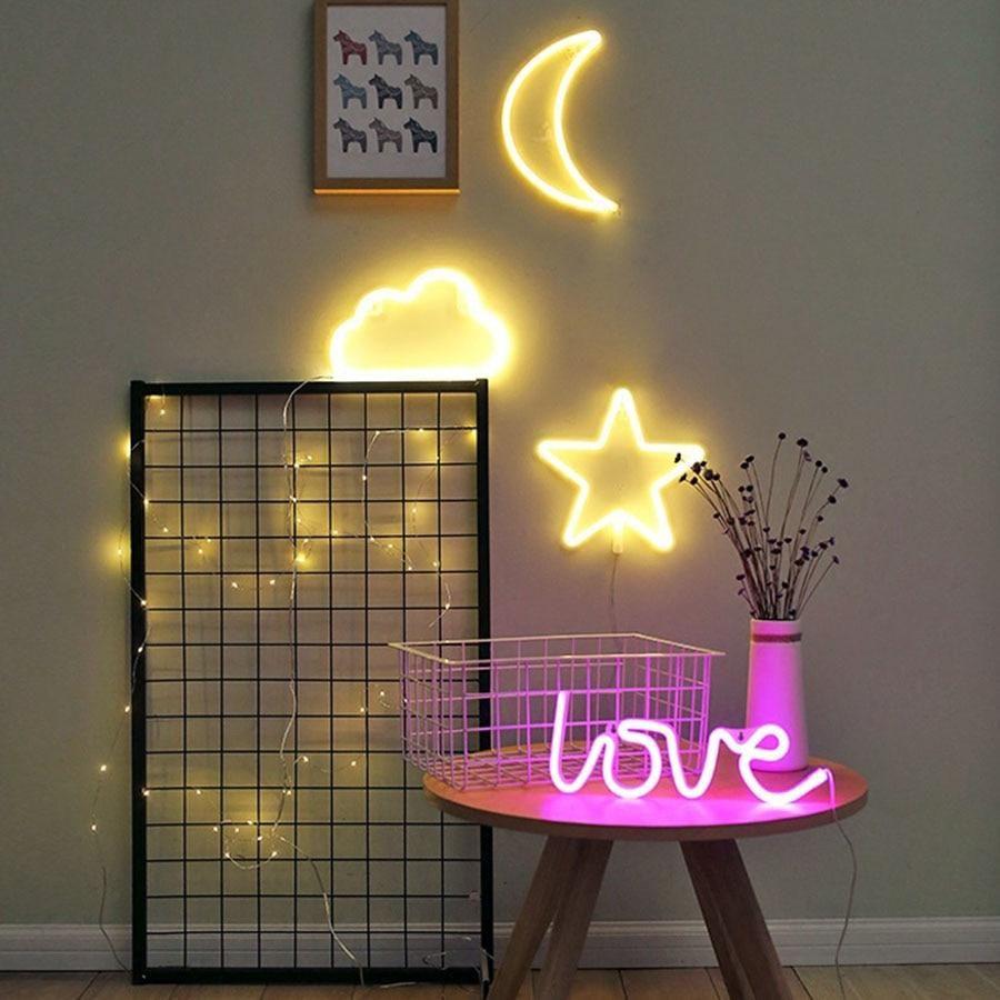 Decorative Letters Led Alibez Com Neon Sign Bedroom Led Decor Led Lighting Bedroom