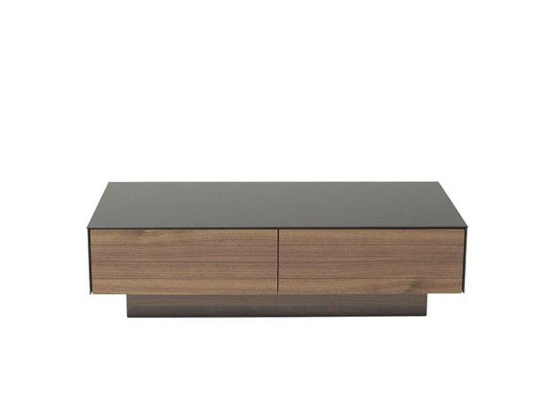 Vig Furniture Modrest Darius Modern Walnut Coffee Table VGHB215A